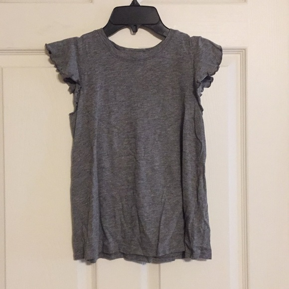 abercrombie kids Other - Girls Short Sleeve Shirt With Ruffled Sleeves